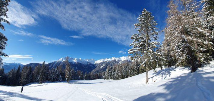 Camminare sulla neve