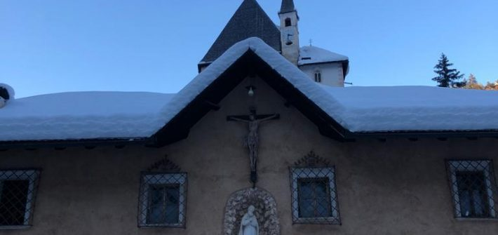 Visita invernale a San Romedio
