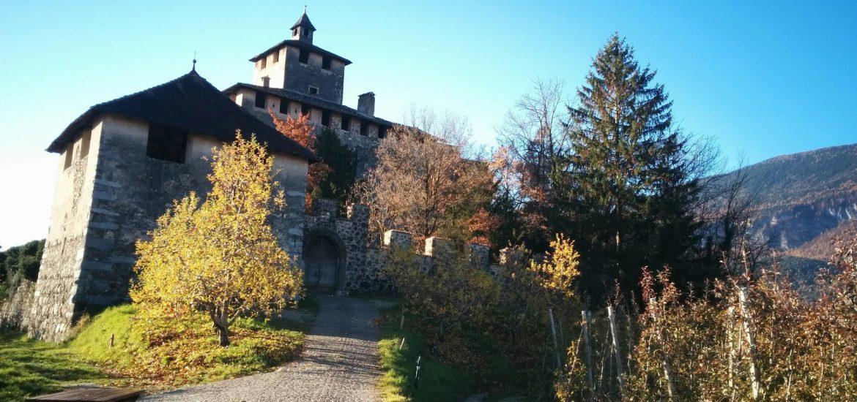castel-nanno-val di non-trentino-residenza-arrivare al castello