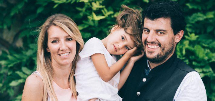 Andreas, fabiana e Adelaide
