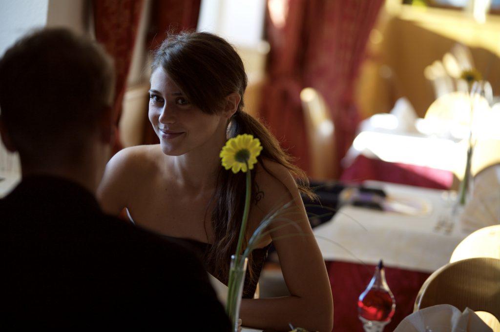Cena romantica nel nostro Ristorante del Trentino