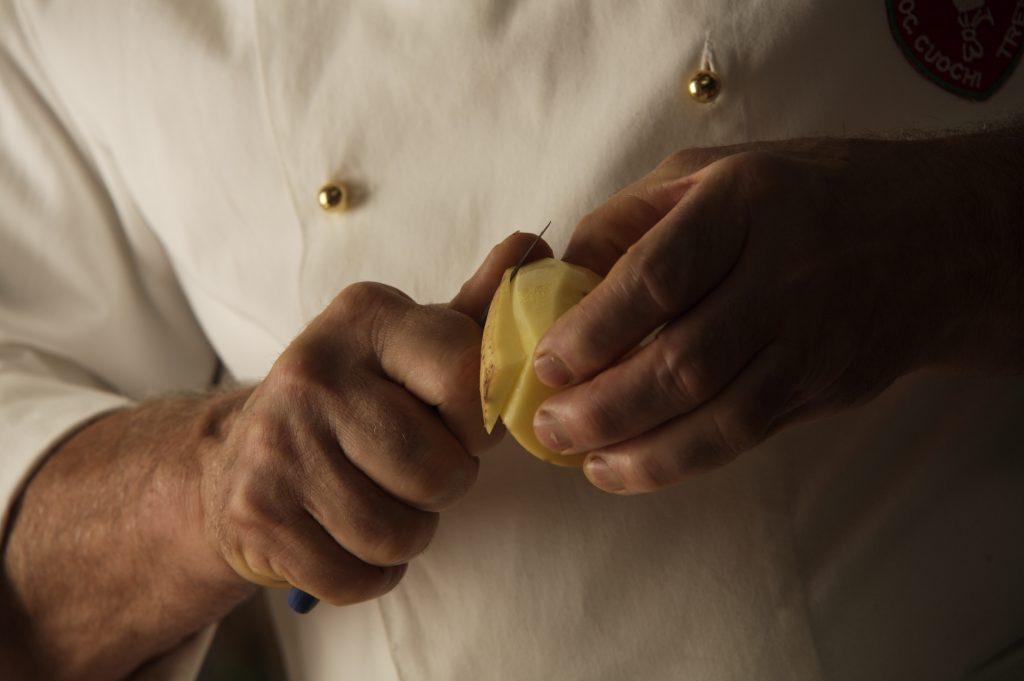 Tortel di Patate Bruno al lavoro