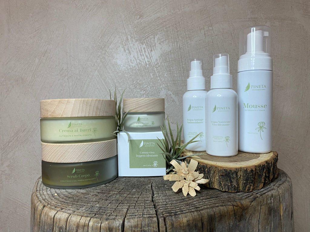 prodotti cosmetici-pineta-experience-specifici